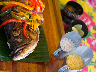 Fresh Fish - Amazon Cuisine
