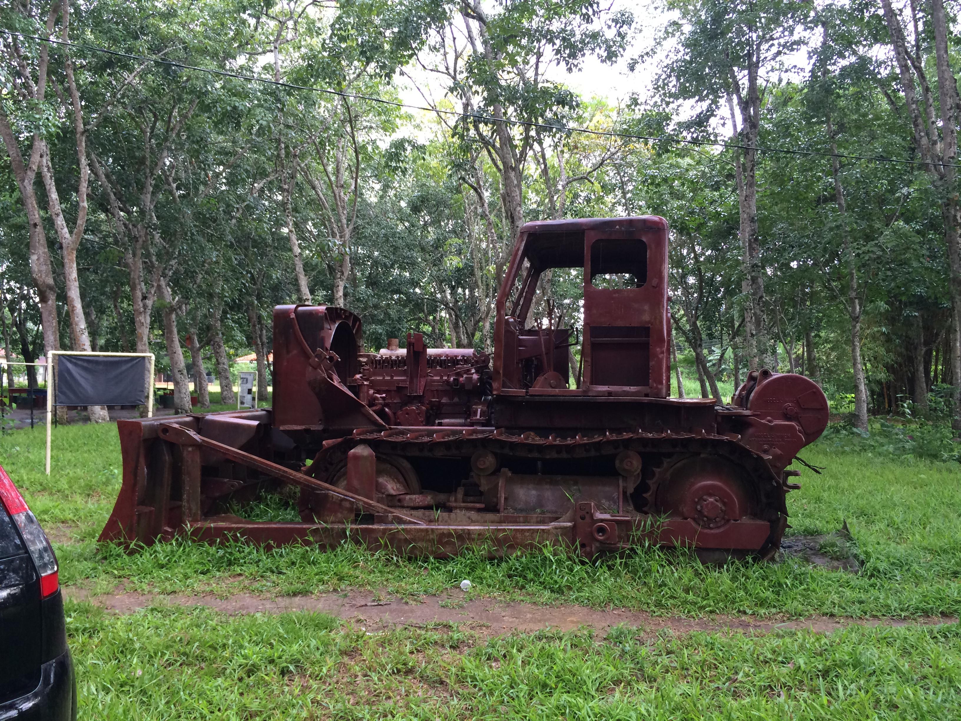 GM Bulldozer in Henry Ford's Belterra