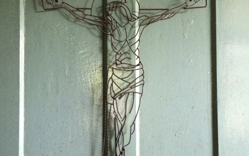 Holy Cross on Door in Belterra