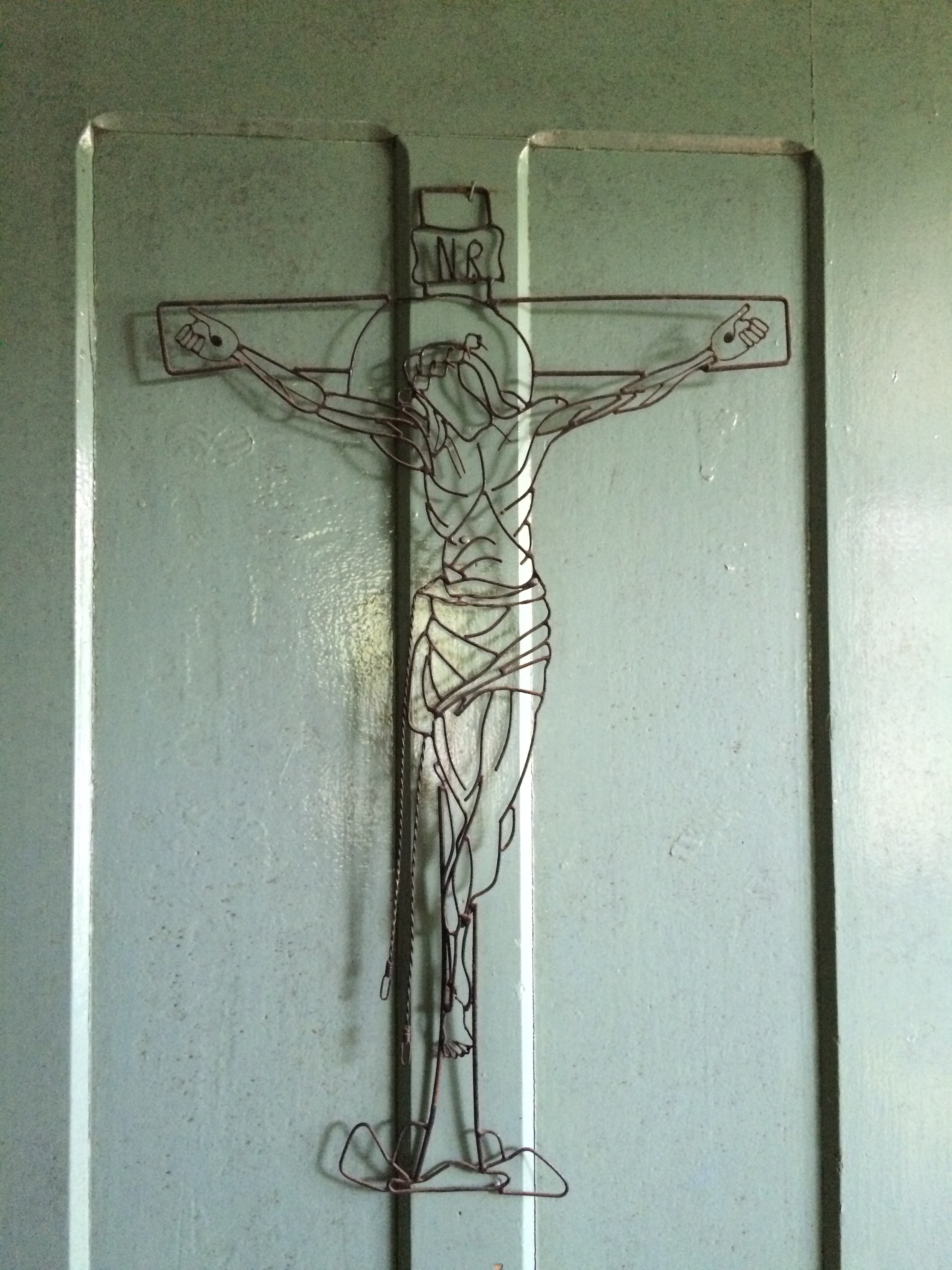 Holy Cross on Door in Belterra