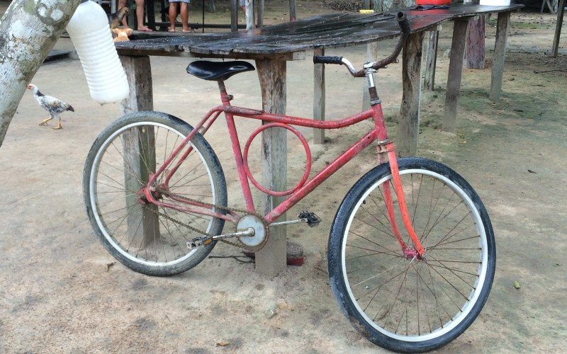 Brazil Red Farm Bike