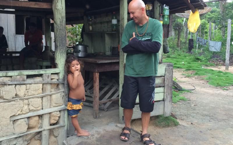 Rainforest property farm family visit