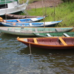 Picturesque Day Boats near Santarem