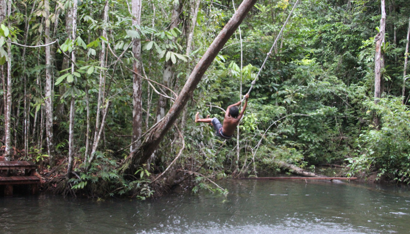 Rainforest Jungle Boy